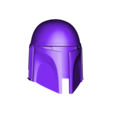 Death_Watch_Mandalorian_Helmet.stl Download free STL file Death Watch Mandalorian Helmet Star Wars • 3D print design, VillainousPropShop