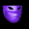 Part_2.stl Télécharger fichier STL gratuit Kakashi Anbu Mask Naruto • Design à imprimer en 3D, VillainousPropShop