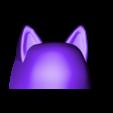 Part_1.stl Télécharger fichier STL gratuit Kakashi Anbu Mask Naruto • Design à imprimer en 3D, VillainousPropShop