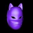 Naruto_Kakashi_Anbu_Mask.stl Télécharger fichier STL gratuit Kakashi Anbu Mask Naruto • Design à imprimer en 3D, VillainousPropShop