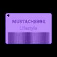 bearded-card.stl Download free STL file Bearded Card. • 3D print object, ALO