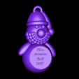 pere noel MPN 2017.stl Download STL file Santa Claus MPN • 3D printer design, 3dgregor