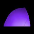 Part 1 v3.stl Download STL file Red Hood Helmet Injustice 2 • Model to 3D print, VillainousPropShop
