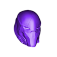 Red Hood Helmet v3.stl Download STL file Red Hood Helmet Injustice 2 • Model to 3D print, VillainousPropShop