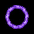 twisted_torus_bracelet_with_holes.STL Download free STL file Twisted Torus Bracelet • 3D printing design, O3D