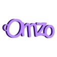 3D.stl Download free STL file PERSONALIZABLE KEYCHAIN ​​omzo • 3D printing model, Ibarakel