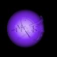 3D NASA logo front.stl Download free STL file NASA Insignia • 3D printer model, spac3D