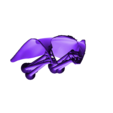 SG_Cape_TopYellow.stl Download free STL file Space Ghost • 3D printer model, mag-net
