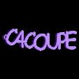 3D.stl Télécharger fichier STL gratuit PORTE-CLEF PERSONALISABLE C4COUPE • Plan pour impression 3D, Ibarakel