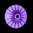 Impeller-LP02.stl Download free STL file Turboprop Engine • 3D printable model, konchan77