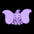 dumbo2.stl Download free STL file Dumbo flexible 3D drawing • Design to 3D print, 3dlito