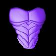Nightwing Chest Armor.stl Download STL file Nightwing Chest Armor with Free Mask • 3D print design, VillainousPropShop