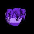 skul-eyeHoles.stl Download free STL file LED Skull Lantern • Model to 3D print, Adafruit