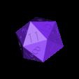 dvacetistenka.STL Télécharger fichier STL gratuit DÉ • Modèle pour impression 3D, jaazasja
