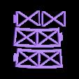 LBLUC-segment_set.stl Télécharger fichier STL gratuit Led lampe de pont Segment Universel • Objet imprimable en 3D, Opossums