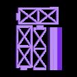 LBLUC-straight-flat.stl Download free STL file Led bridge lamp Universal Segment • 3D printable design, Opossums