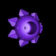 Center.stl Download free STL file Chandelier Iris • 3D printer design, Opossums