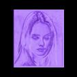 +30+80_vanessa1.stl Télécharger fichier STL gratuit Vanessa Paradis Dessin 3D • Modèle imprimable en 3D, 3dlito