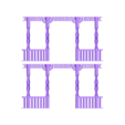 front railing.stl Download STL file bates motel house psycho house • 3D printable object, PatricioVazquez