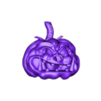 UMesh_Citrouille1.OBJ Download free OBJ file halloween • Object to 3D print, syl39