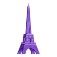 the eiffel tower.stl Download STL file the eiffel tower • 3D print design, NANSARIGOMTANG
