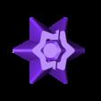 Rückseiter_06.stl Télécharger fichier STL gratuit Étoiles pour la décoration de Noël - lumière LED • Plan pour imprimante 3D, ewap