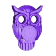 OWL_CLOCKrevised.stl Download free STL file OWL CLOCK with moving eyes • 3D printing template, atarka3
