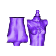 SG_TORSO_SPLIT_2_PRINT.stl Download free STL file Supergirl articulated doll • 3D printable object, atarka3