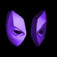 deadpool_nero_new.stl Télécharger fichier STL gratuit Trousseau de tête de Deadpool • Objet à imprimer en 3D, 2be3d