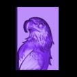 鹰头211.stl Télécharger fichier STL gratuit aigle 3d stl relief modèle • Objet à imprimer en 3D, stlfilesfree