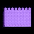 Castle-Wall.obj Download 3DS file Castle wall • 3D printable design, Skazok