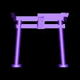 tori2i.obj Download OBJ file Torii - japanese gate • 3D printer object, 3Dgraph