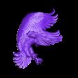 1288.stl Télécharger fichier STL gratuit aigle 3d stl relief modèle • Objet à imprimer en 3D, stlfilesfree