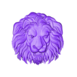 lion1111.stl Download free STL file lion head relief model • 3D printing template, stlfilesfree