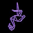 customized_origami_flamingo.stl Download free STL file Customizable Origami Flamingo • 3D print object, MightyNozzle