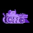 SteampunkTank.stl Download STL file Steampunk Tank | Tri-Cannon | (.STL file) • Design to 3D print, MF3D