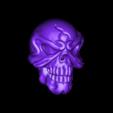 XA1002骷髅头3.stl Download free STL file SKULL 3D MODEL • 3D printing design, stlfilesfree