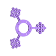 Xmas_Spinner_-_Cross.stl Download free STL file Christmas Spinners • Model to 3D print, Zippityboomba