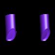 MM_Kirby_White.stl Télécharger fichier STL gratuit Multicolore Kirby! [4 couleurs] • Objet à imprimer en 3D, ChaosCoreTech