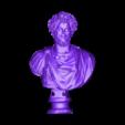 SubTool-0-11415487.OBJ Download free OBJ file Bust of Septimus Severus Crowned with Oak • 3D print object, MSR