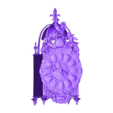 744aeb7577c34ebfb0d704879f16e74d.obj Download free OBJ file French Lantern Clock • 3D printable object, MonteMorbase