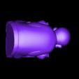小沙尼双手举起.stl Download free STL file little monk  • 3D print object, stlfilesfree