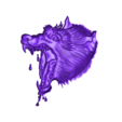 wolfhead6.stl Download free OBJ file eight models of wolf heads  • 3D printable model, stlfilesfree