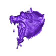 wolfhead6.obj Download free OBJ file eight models of wolf heads  • 3D printable model, stlfilesfree
