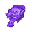 wolfhead7.stl Download free OBJ file eight models of wolf heads  • 3D printable model, stlfilesfree