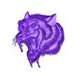 wolfhead5.obj Download free OBJ file eight models of wolf heads  • 3D printable model, stlfilesfree