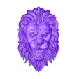 lion_head.stl Download free OBJ file lion head • 3D printable design, stlfilesfree