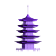 Pagoda.obj Download free OBJ file Pagoda • 3D printable design, Colorful3D
