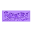 horse_c.stl Download free STL file horses relief models for cnc • 3D printable object, stlfilesfree