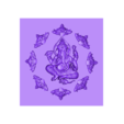 indianelephantbuddha.stl Download free STL file ganesha elephant god • Template to 3D print, stlfilesfree
